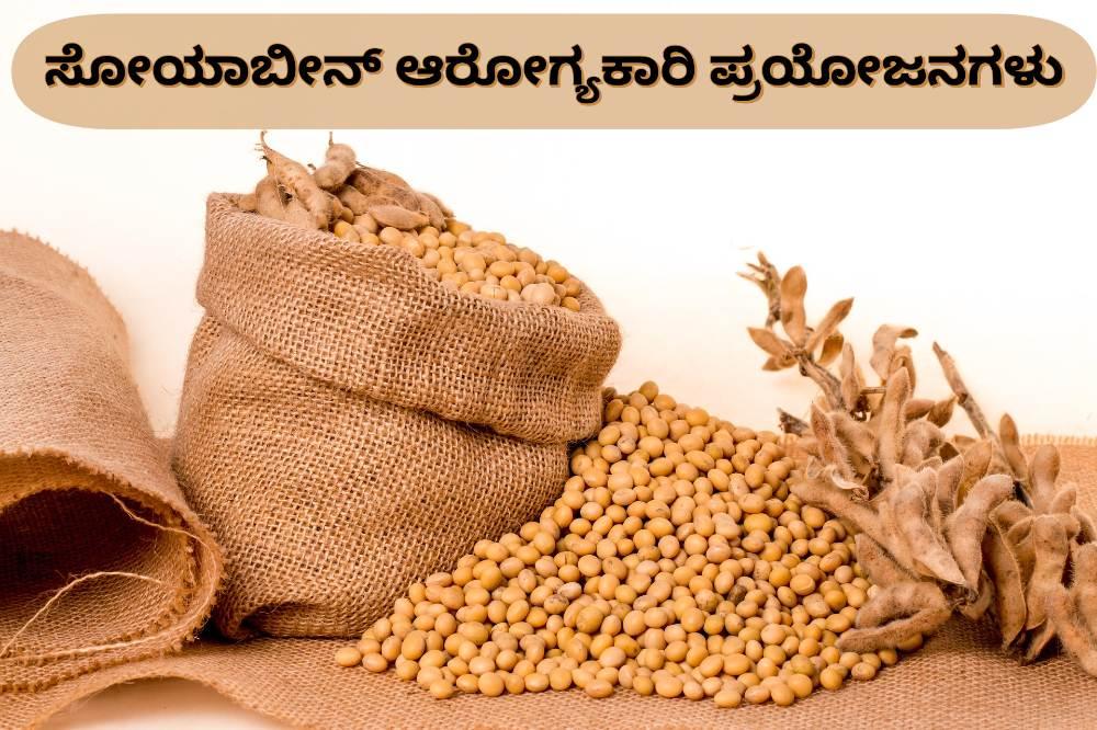 ಸೋಯಾಬೀನ್ ಪ್ರಯೋಜನಗಳು - Soybean Benefits in Kannada